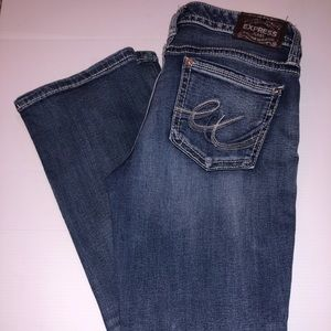 Express Jeans barely boot Stella low rise 8s